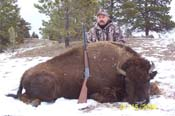 buffalo hunting guides, south dakota, elk hunting outfitters, wyoming, colorado, outfitters